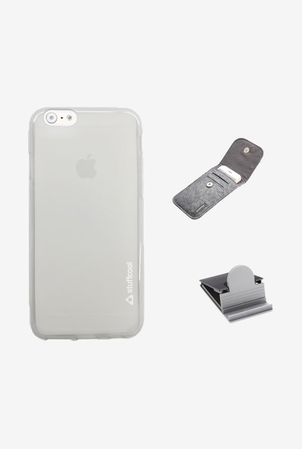 Stuffcool LSIP647 Back Case for Apple iPhone 6 White