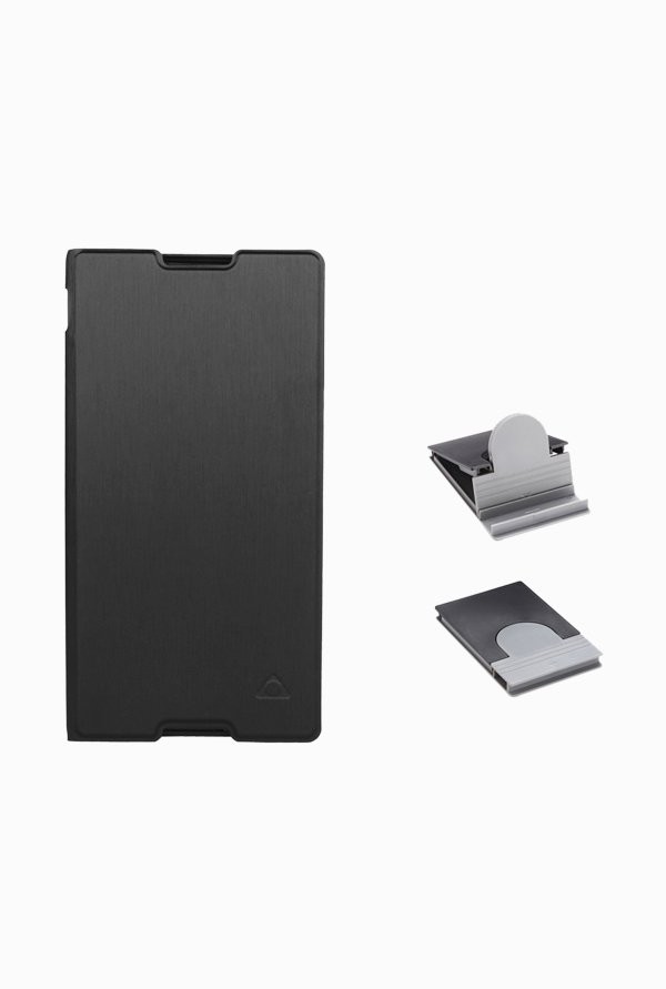 Stuffcool CRSYC3 Flip Cover for Sony Xperia C3/C3 Dual Black