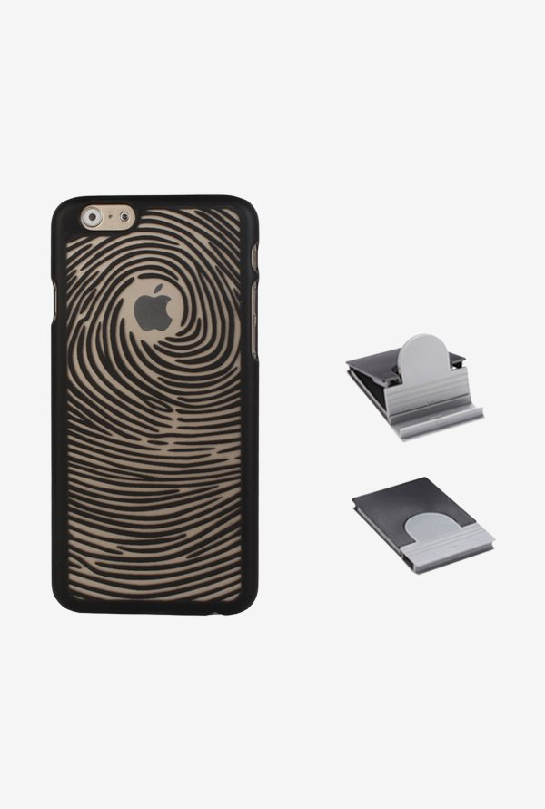 Stuffcool ETSWIP655 Back Case for Apple iPhone 6+ Black