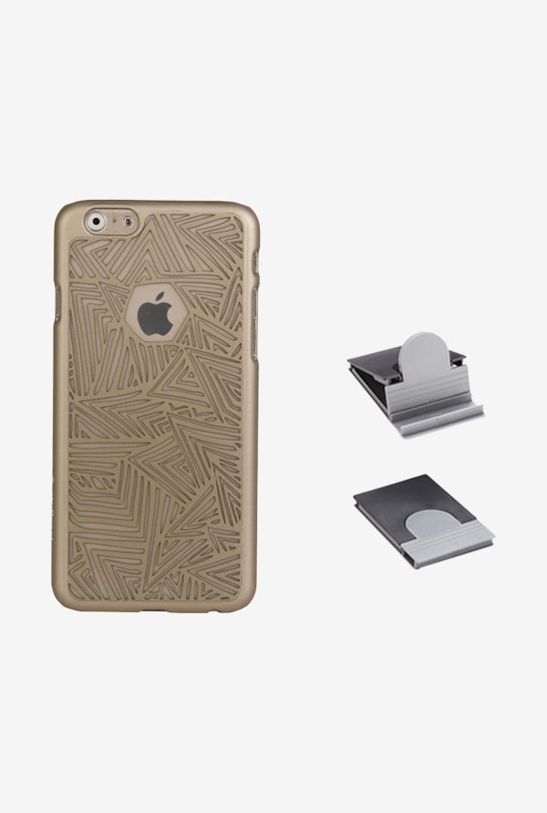 Stuffcool ETANIP655 Back Case for Apple iPhone 6+ Gold