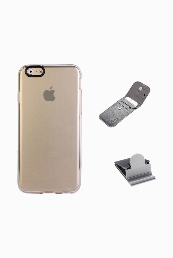 Stuffcool ACIP647 Back Case for Apple iPhone 6 Clear