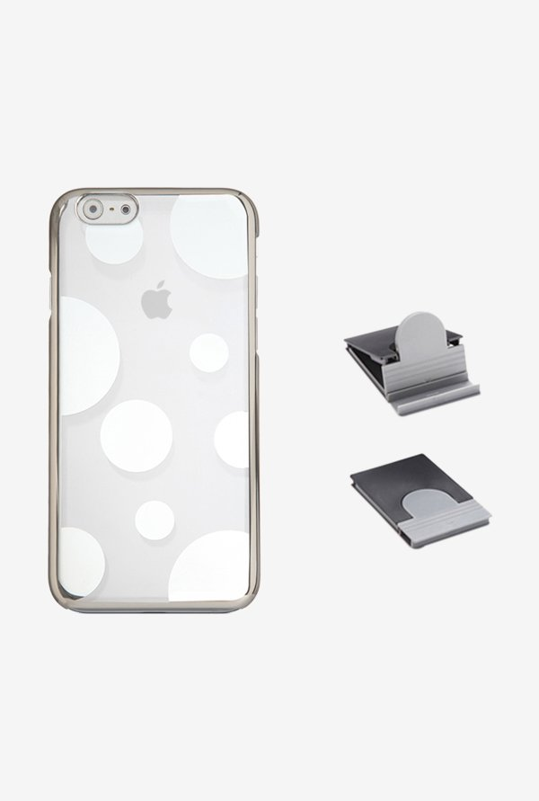 Stuffcool AUMNIP647 Back Case for Apple iPhone 6 Silver