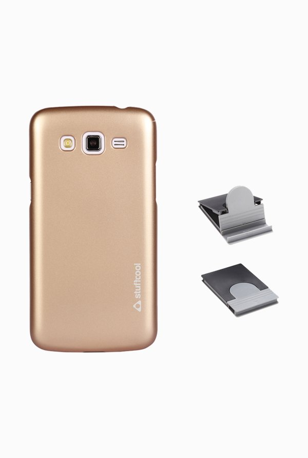Stuffcool EMSG7102 Back Case for Samsung Galaxy Grand 2 Gold