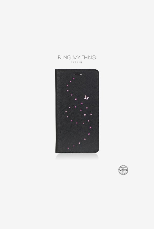 Bling My Thing IP6IPRIPPPKM iPhone 6 Plus Case Pink