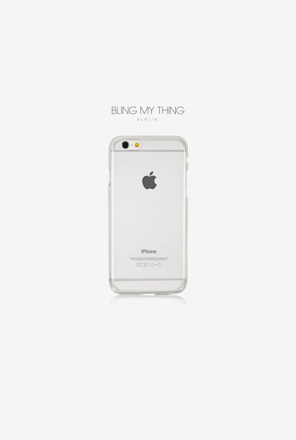 Bling My Thing IP6MTKCLNON iPhone 6 Case White