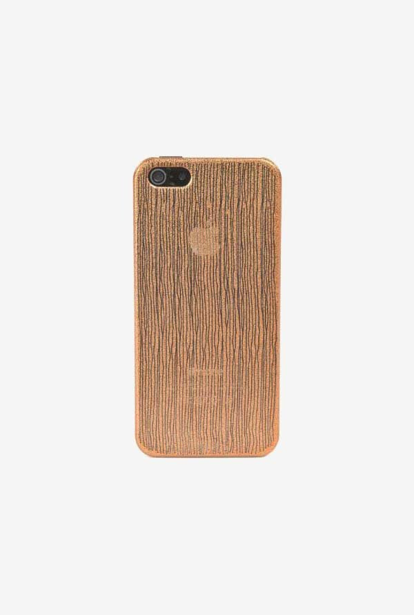Tucano Chic IPH5CHCP iPhone 5 Back Case Brown