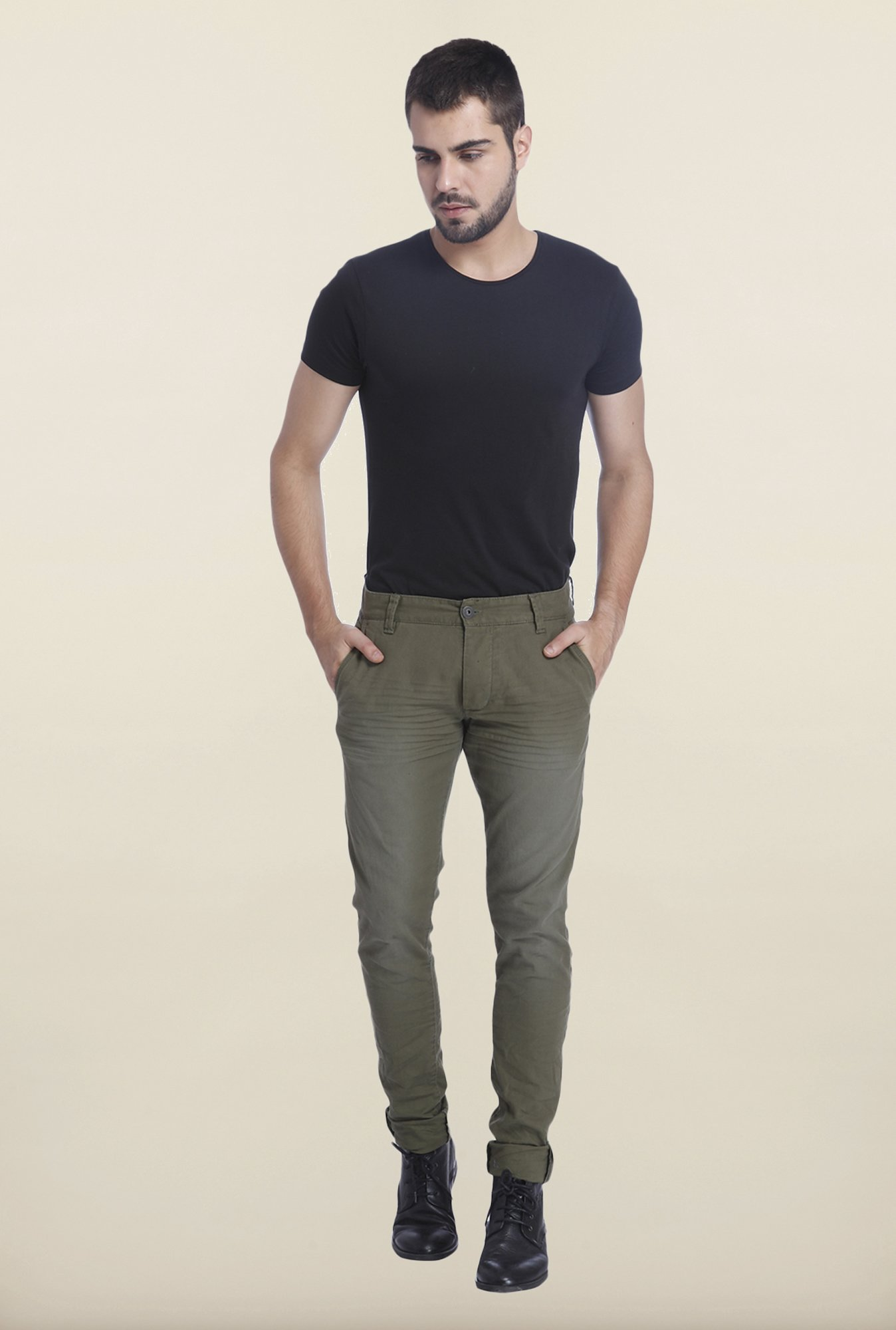 Jack & Jones Dark Green Glenn Trouser