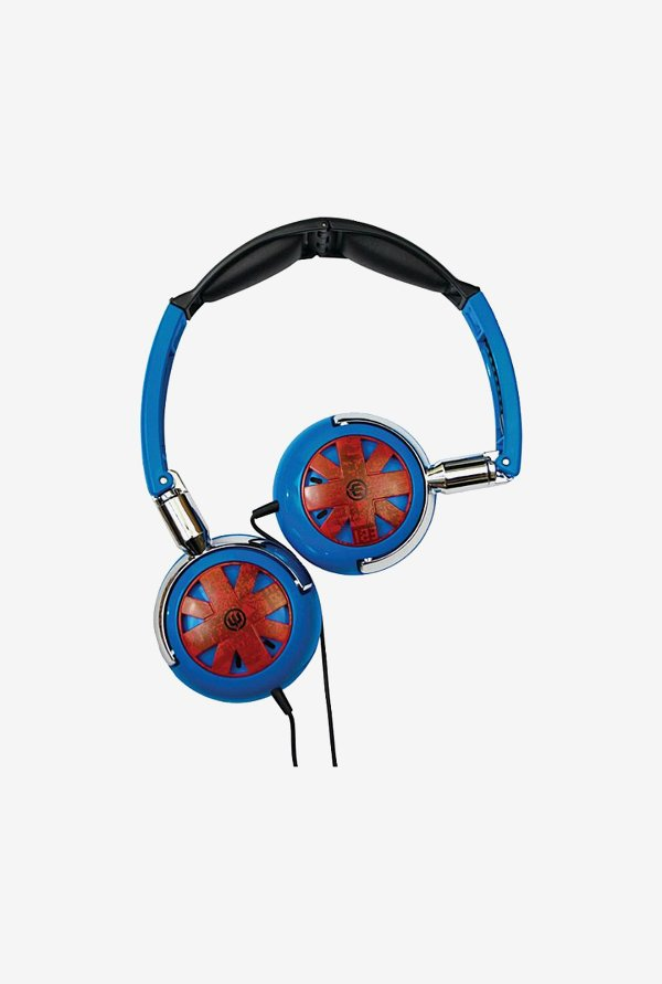 Wicked Audio WI8100 On the ear Headphone Blue