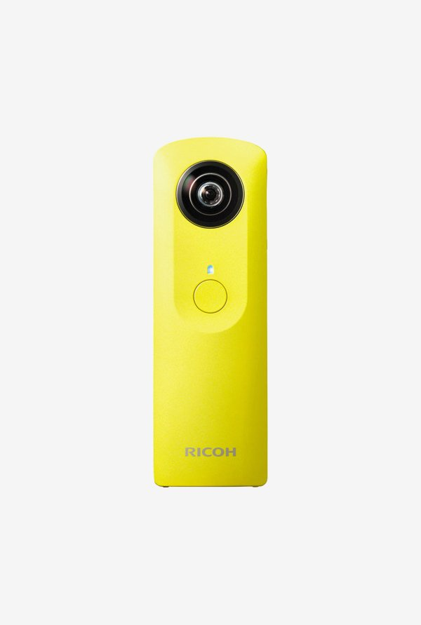 RICOH Theta M15 Point & Shoot Camera Yellow