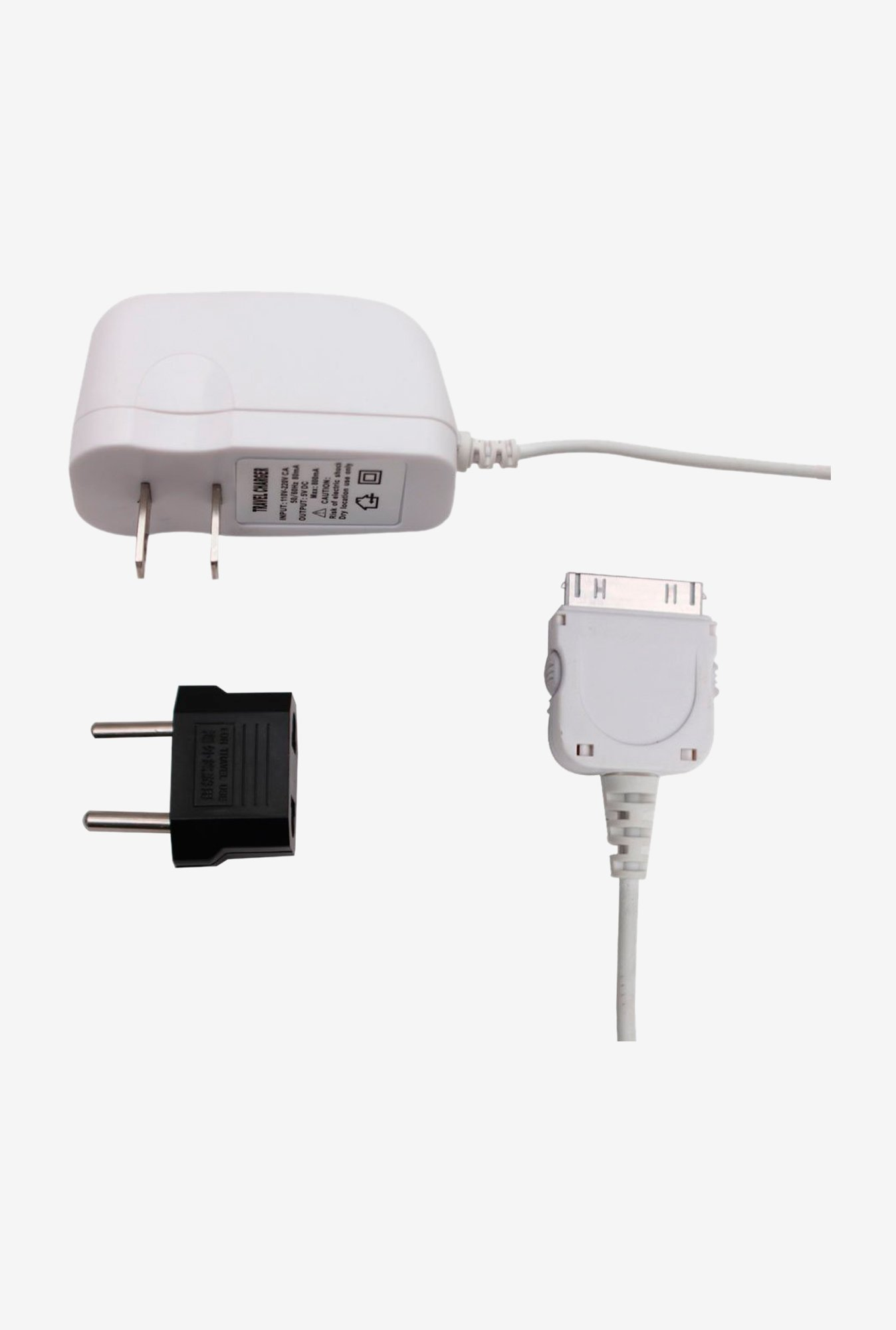 Callmate 1AMP FCIPAD2WH Charger White for iPad 2/3/4