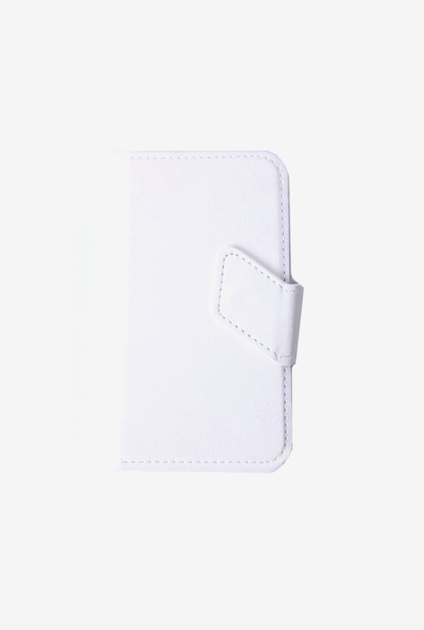 Callmate Windows Sticker Flip Cover White For Nokia 525
