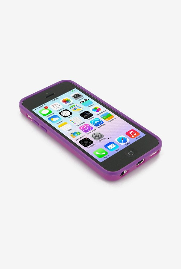 Callmate Bumper Case Purple for iPhone 5C