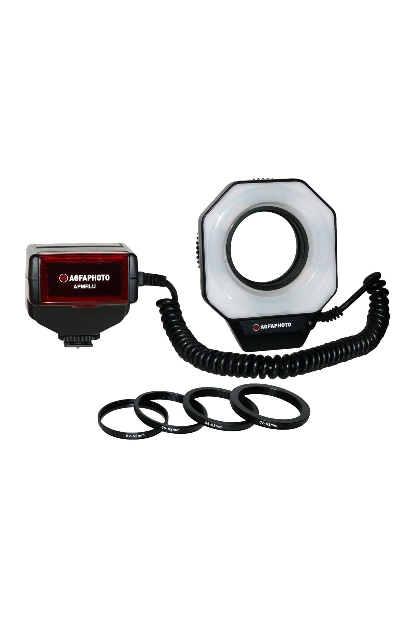 Zeikos APMRLU Ring light Flash Black