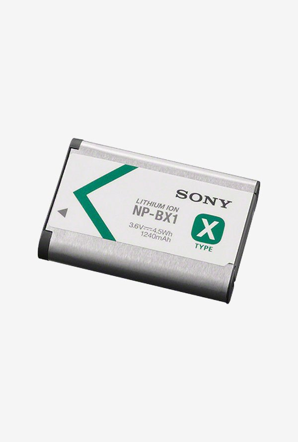 Sony Np-Bx1/M8 Lithium-Ion X Type Battery - Silver