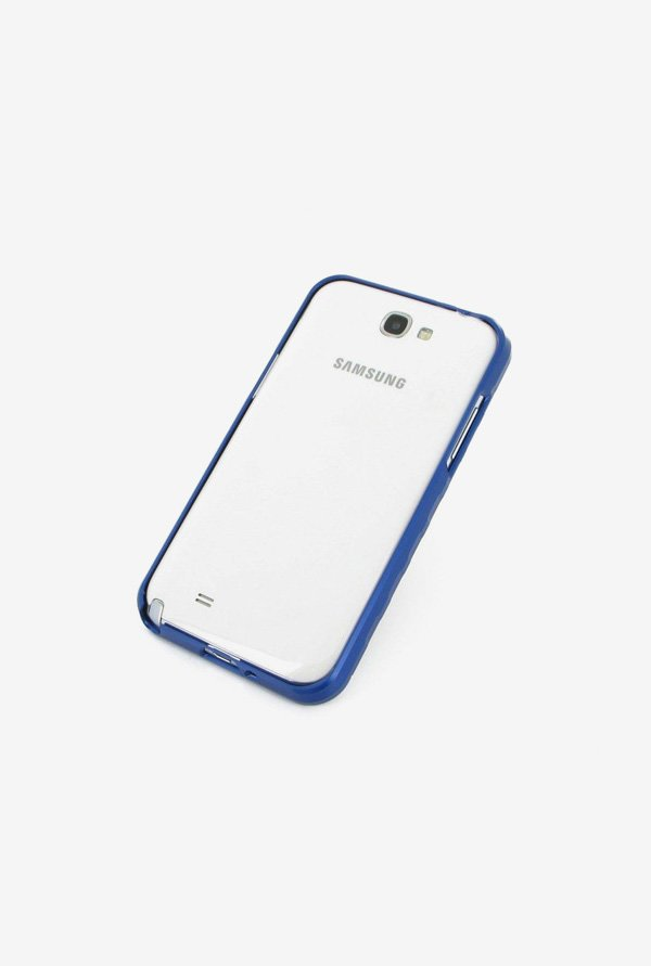 Callmate Bumper Metal Case Sky Blue for Samsung Note 2