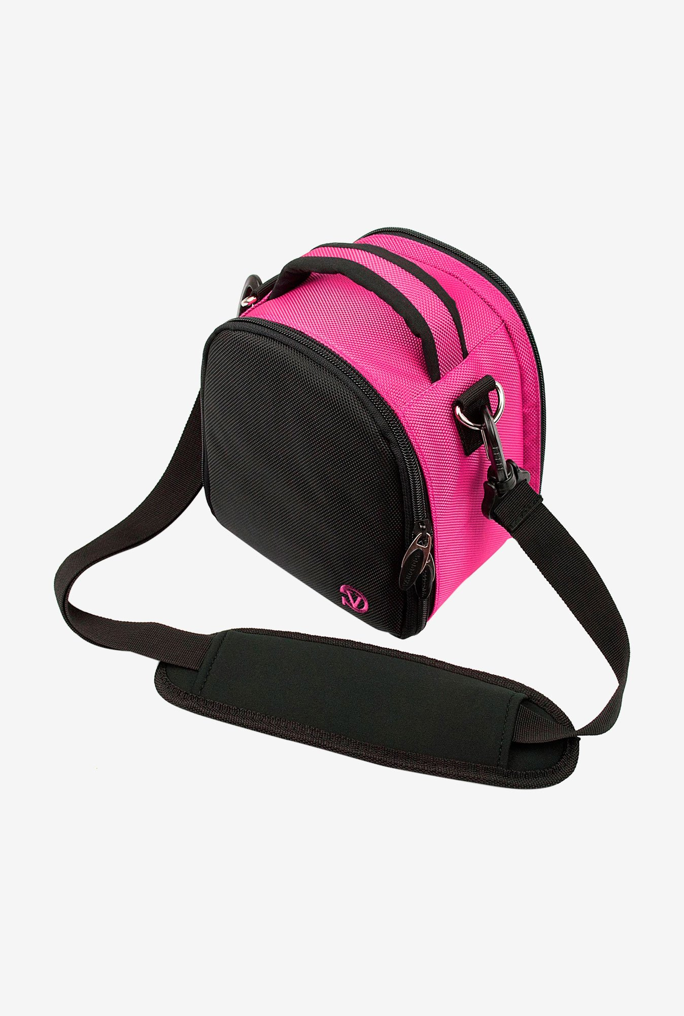 Vangoddy Compact LAUREL 30 Camera Bag Magenta Hot Pink