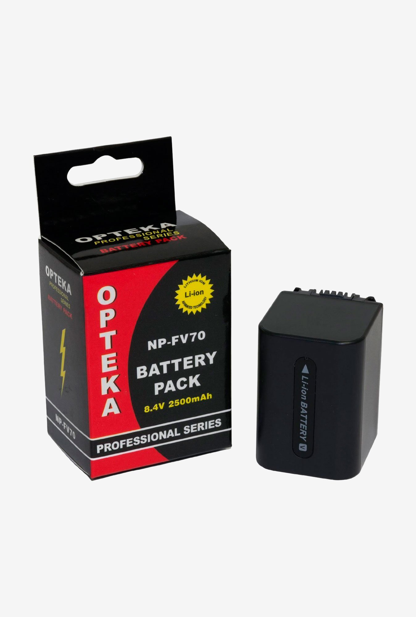 Opteka Np-Fv70 2500Mah Ultra High Capacity Li-Ion Battery Pack For Sony Handycam Camcorders