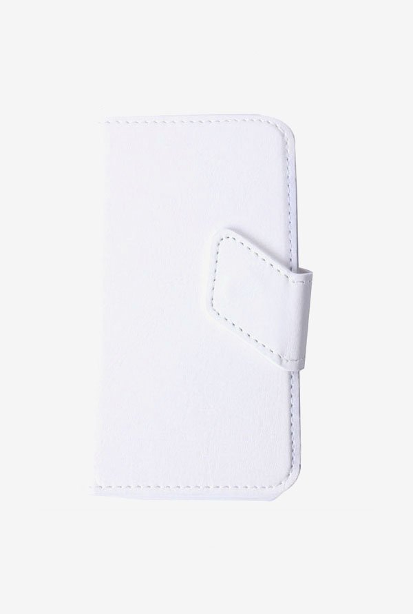 Callmate Stand Sticker Flip Cover White For BlackBerry Q5