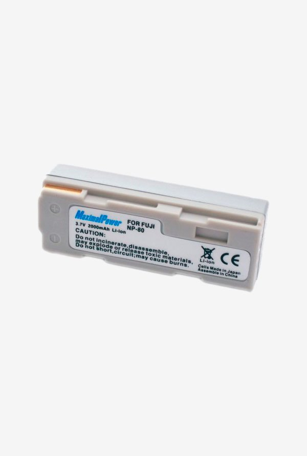 Maximal Power Replacement Battery For Fuji Digital Camera/Camcorder - Silver