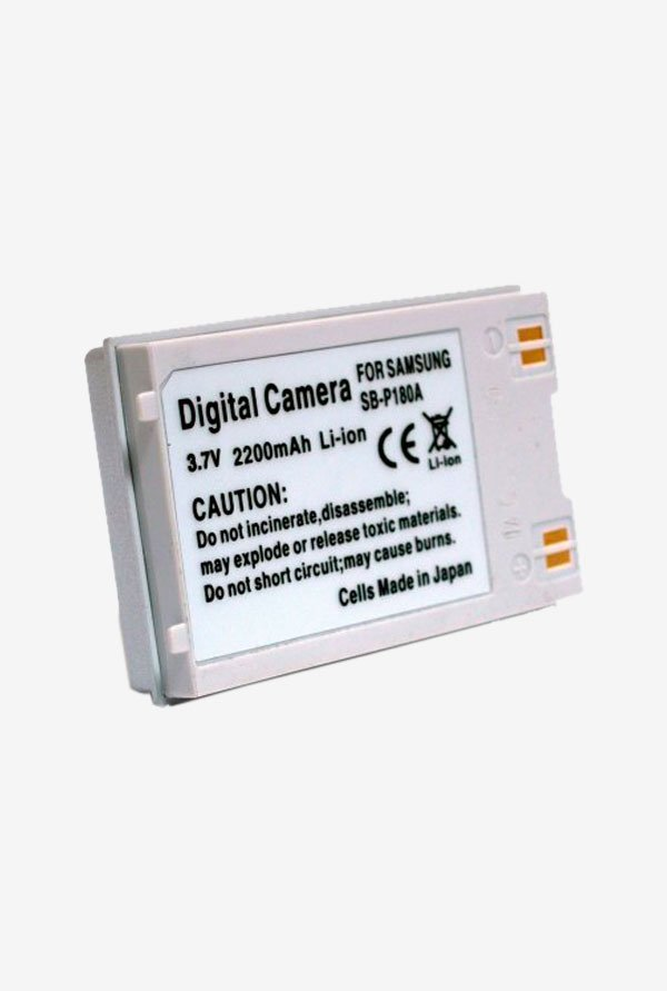 Maximal Power Db Sam Sb-P180A Replacement Battery For Samsung Digital Camera/Camcorder - Silver