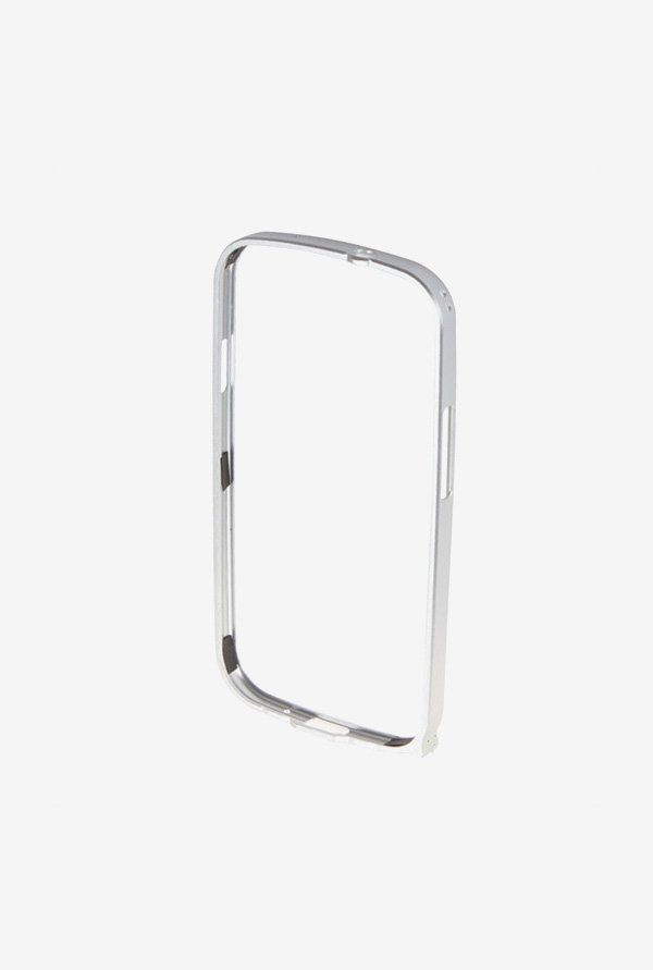 Callmate Bumper Metal Case Silver for Samsung S3