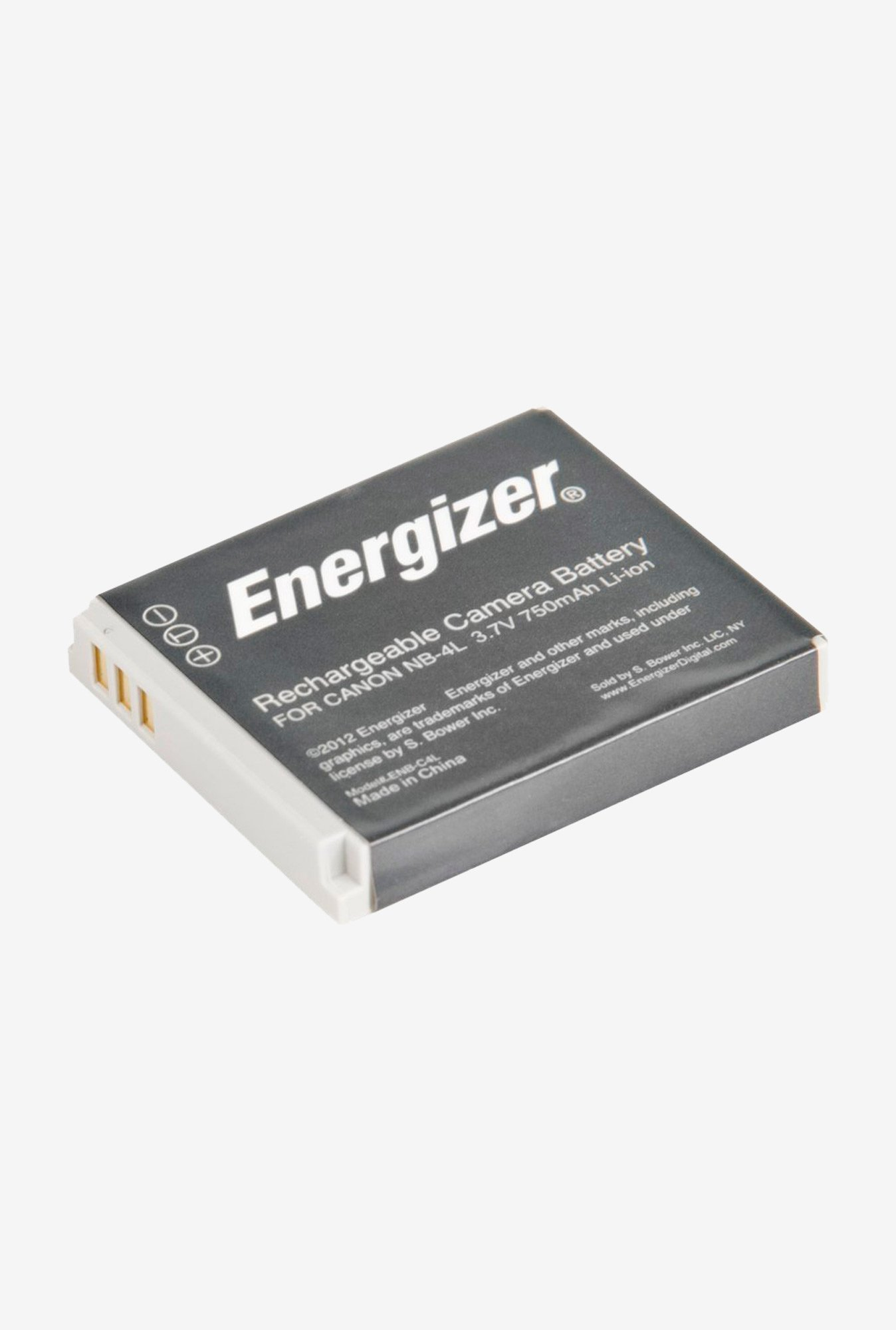 Energizer Enb-C4L Digital Replacement Battery Nb-4L For Canon Ixus And Powershot - Black