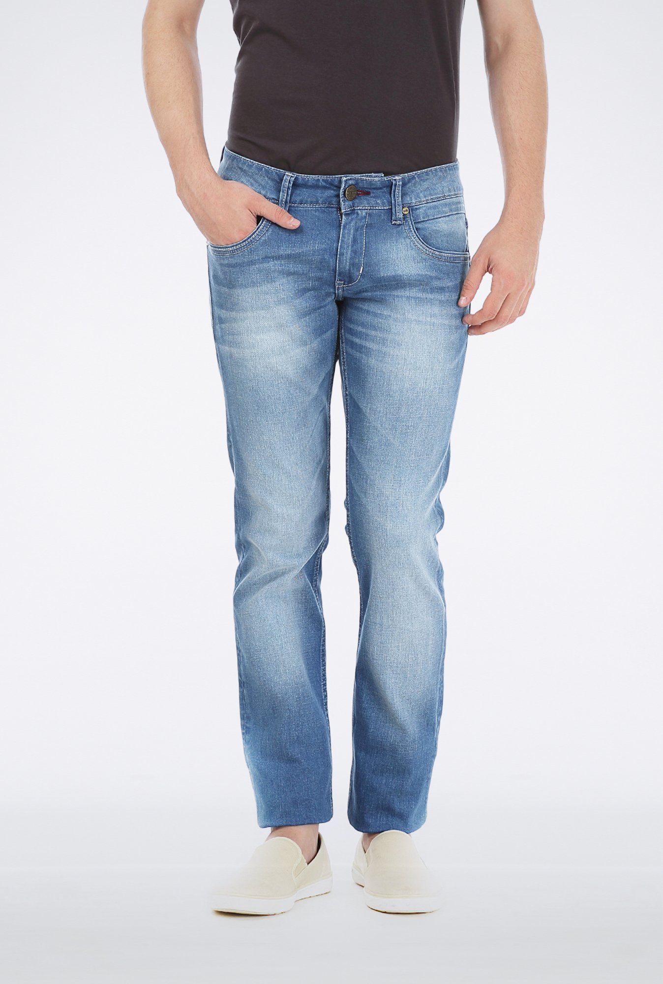 Basics Blue Slim Fit Jeans