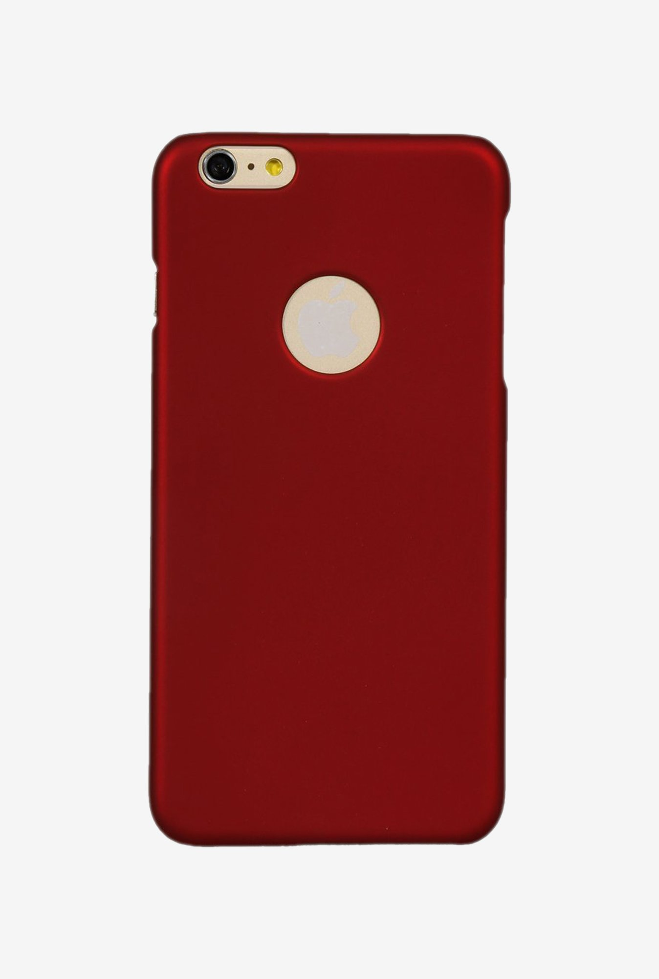iAccy IP6P003 Cut out Hard Rubber Case Maroon for iPhone 6+