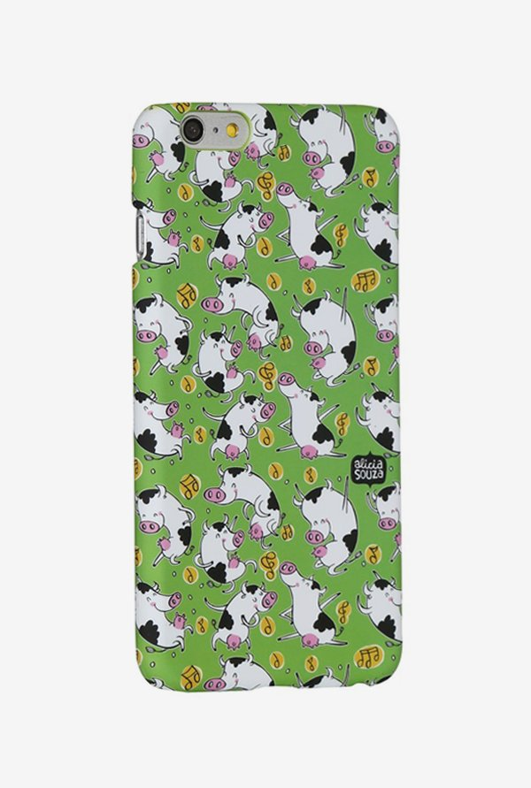 iAccy ASI602 Dancing Cow Case Multicolor for iPhone 6