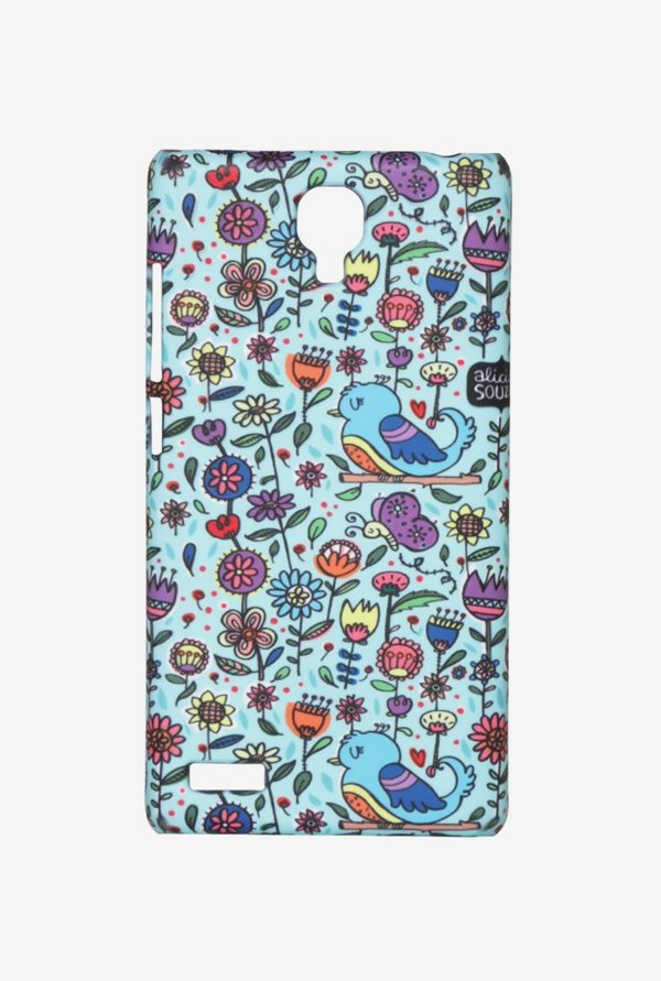 iAccy ASDXN004 Garden Case Multicolor for Redmi Note