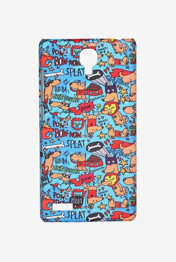 iAccy ASDXN008 Super Hero's Case Multicolor for Redmi Note
