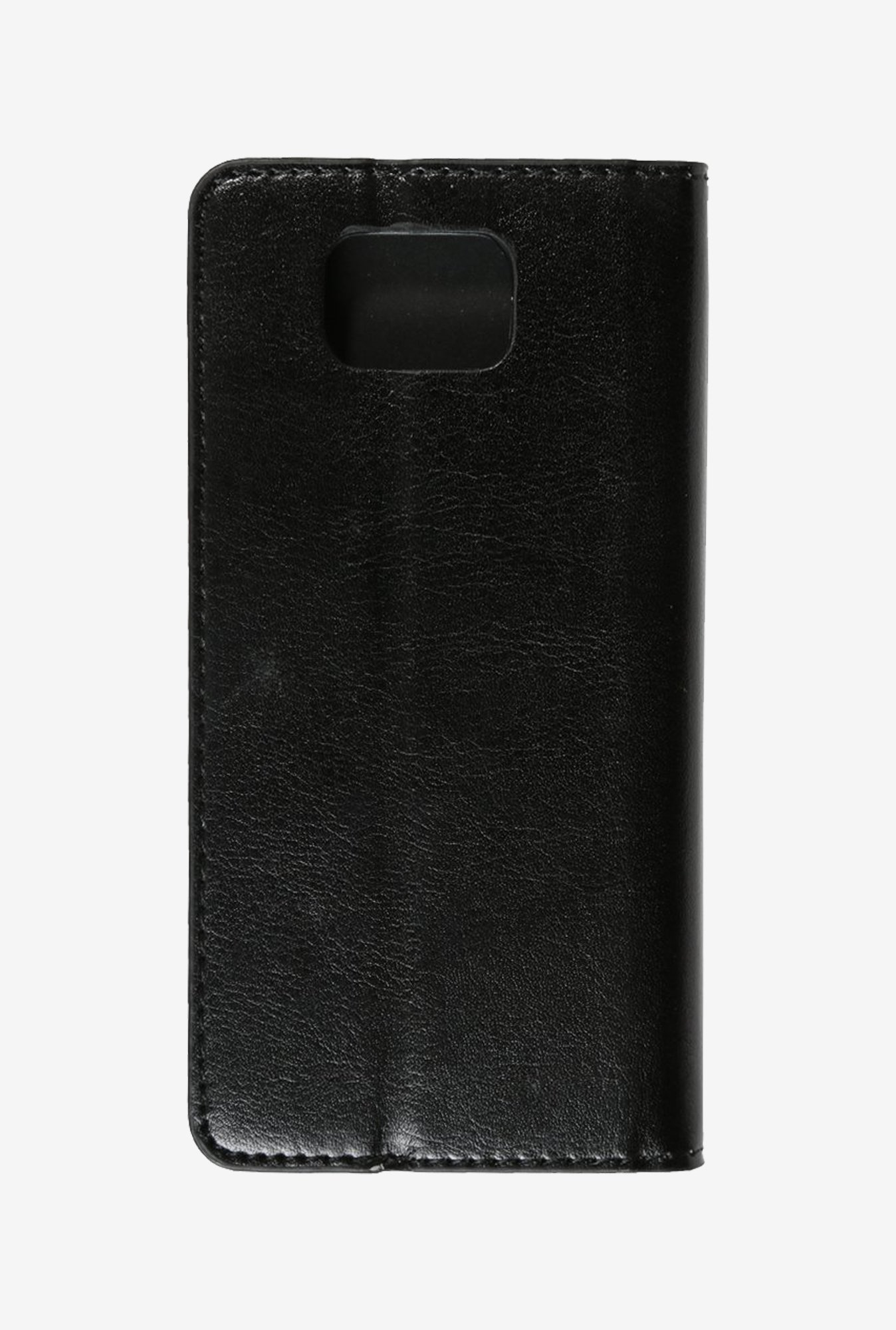 iAccy SS9067 Wallet Case Black for Samsung Galaxy Alpha