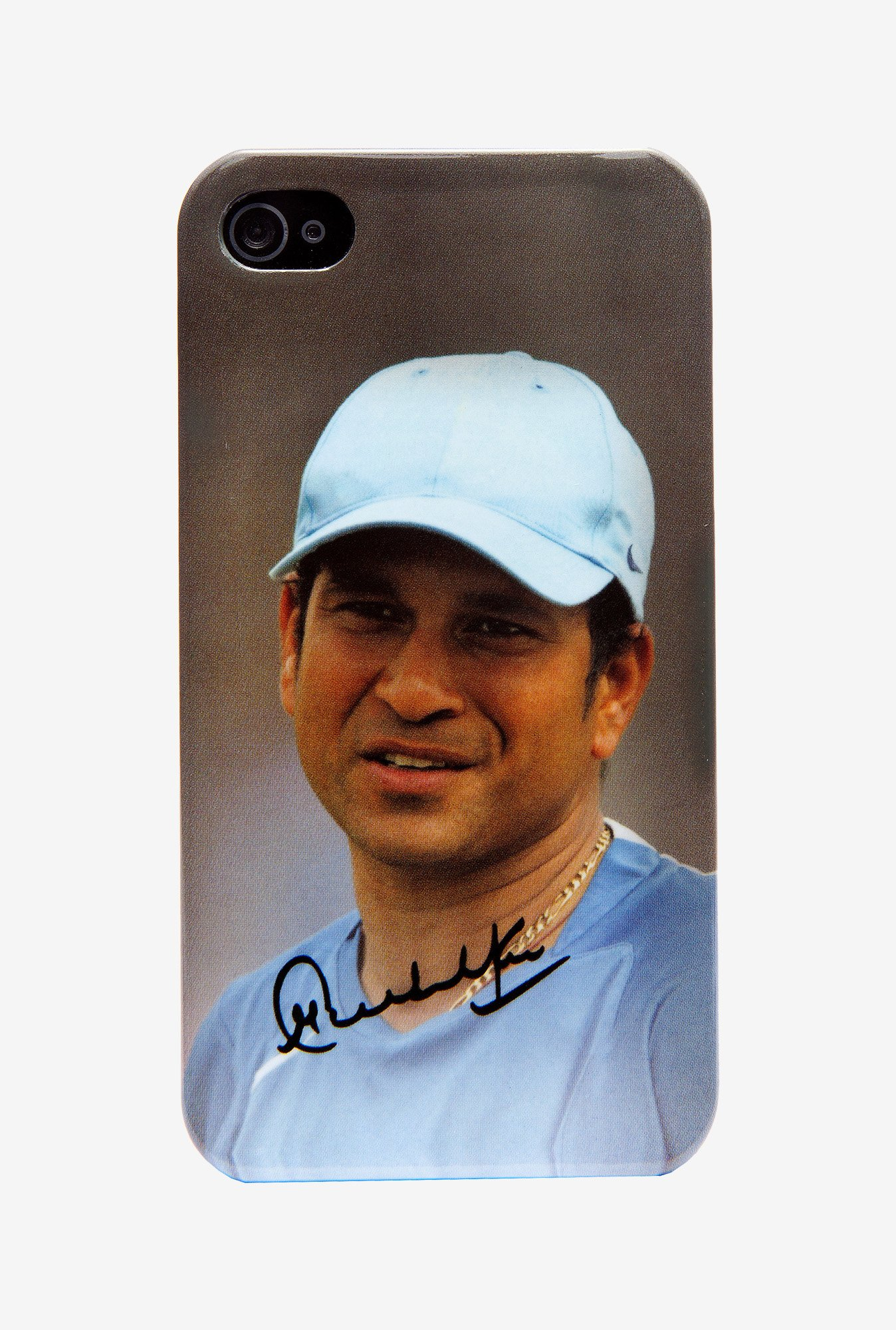 iAccy Sachin Signature Case Multicolor for iPhone 4/4S