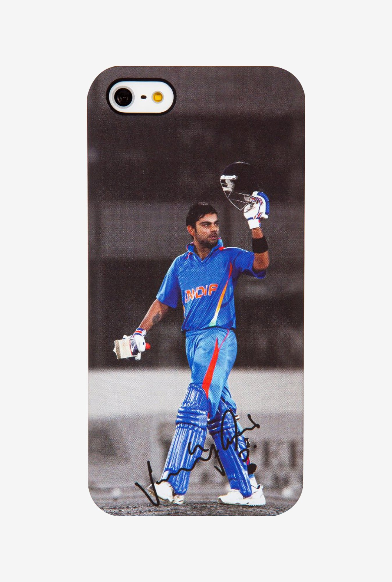 iAccy Virat Kohli Signature Case Multicolor for iPhone 5/5S