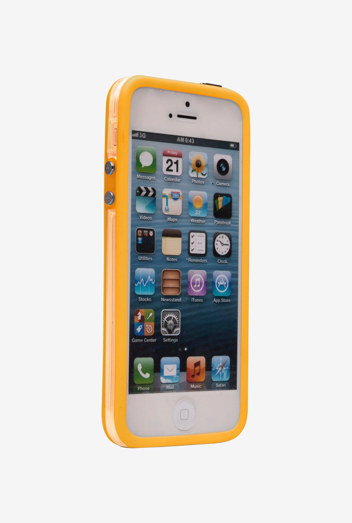 iAccy IP5025 Bumper Case Yellow for iPhone 5