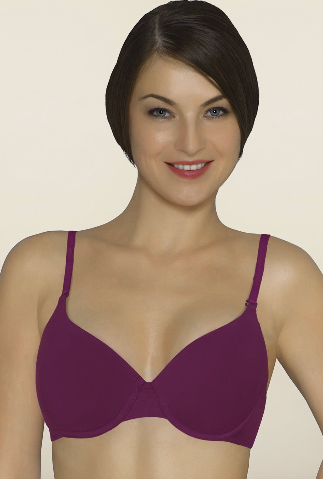 Amante Purple Padded Bra