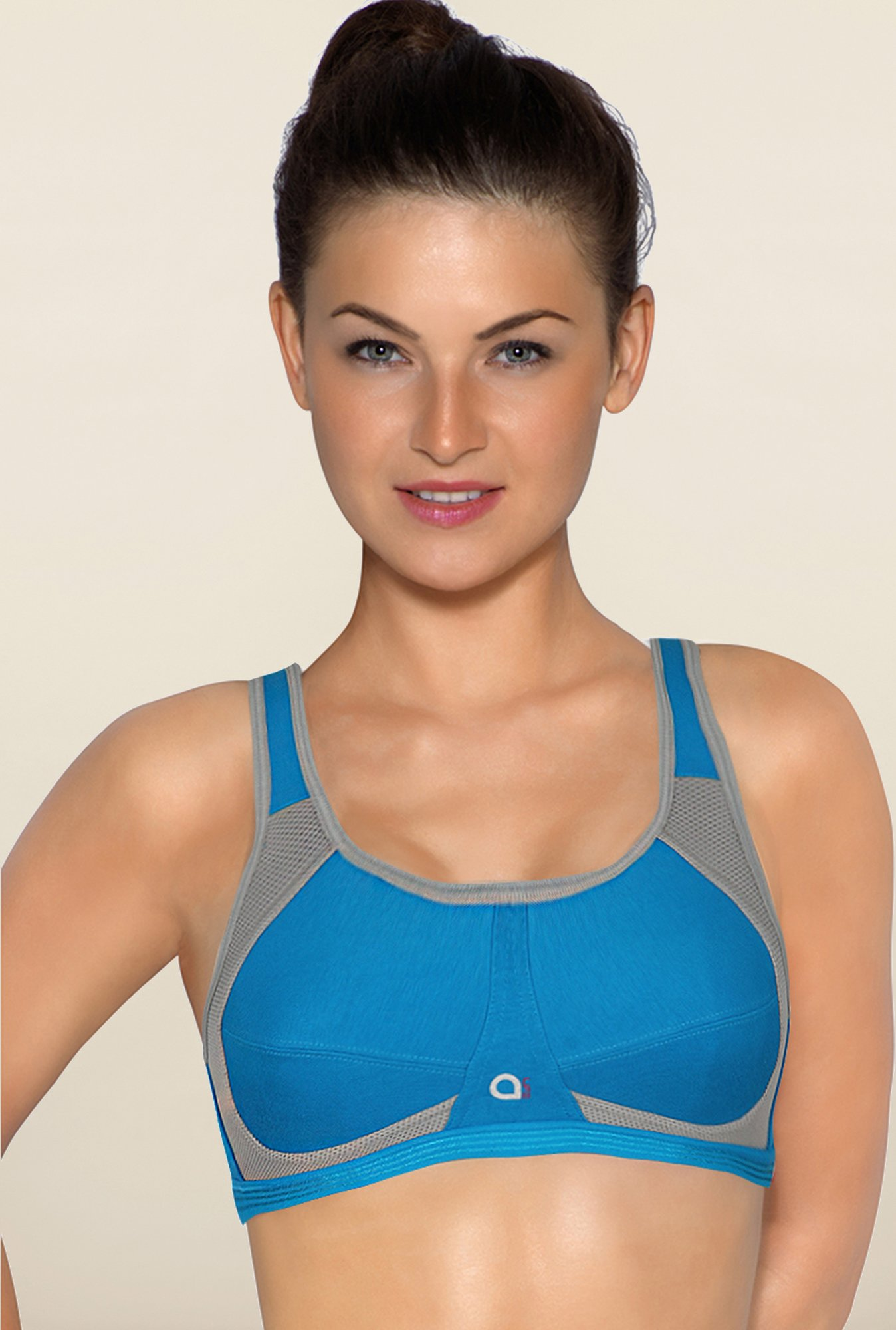Amante Sea Blue Sports Bra