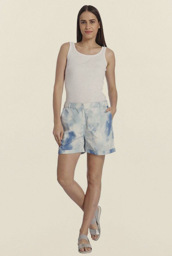Vero Moda Snow White Tie Dye Shorts