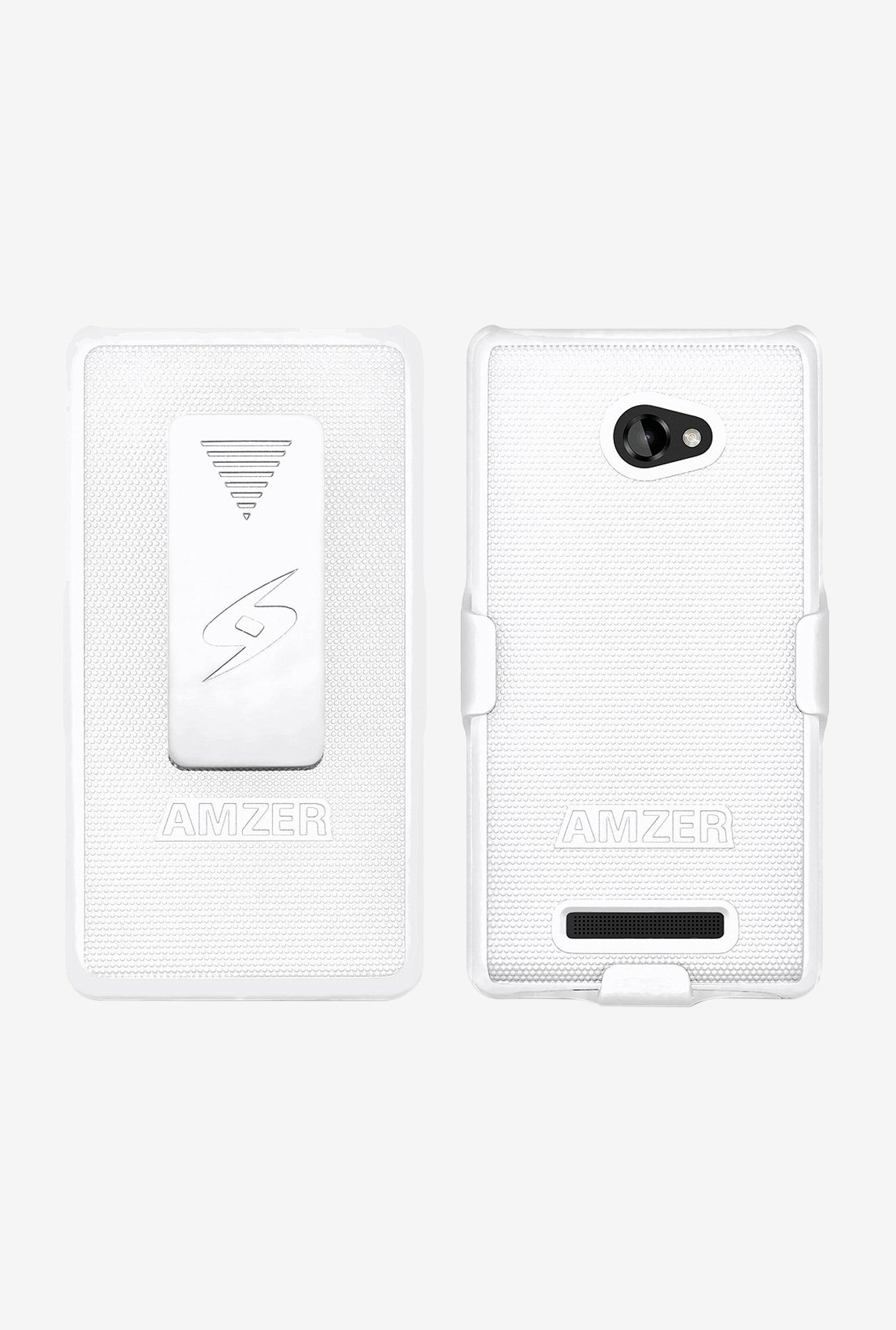 Amzer Shellster Shell Case White for HTC 8X