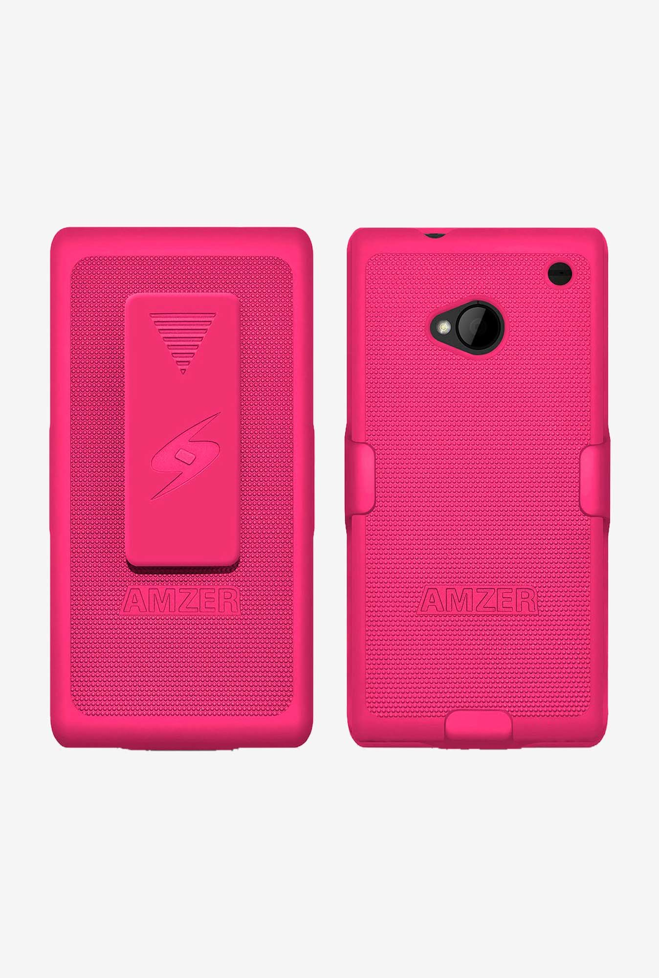 Amzer Shellster Shell Case Hot Pink for HTC One M7