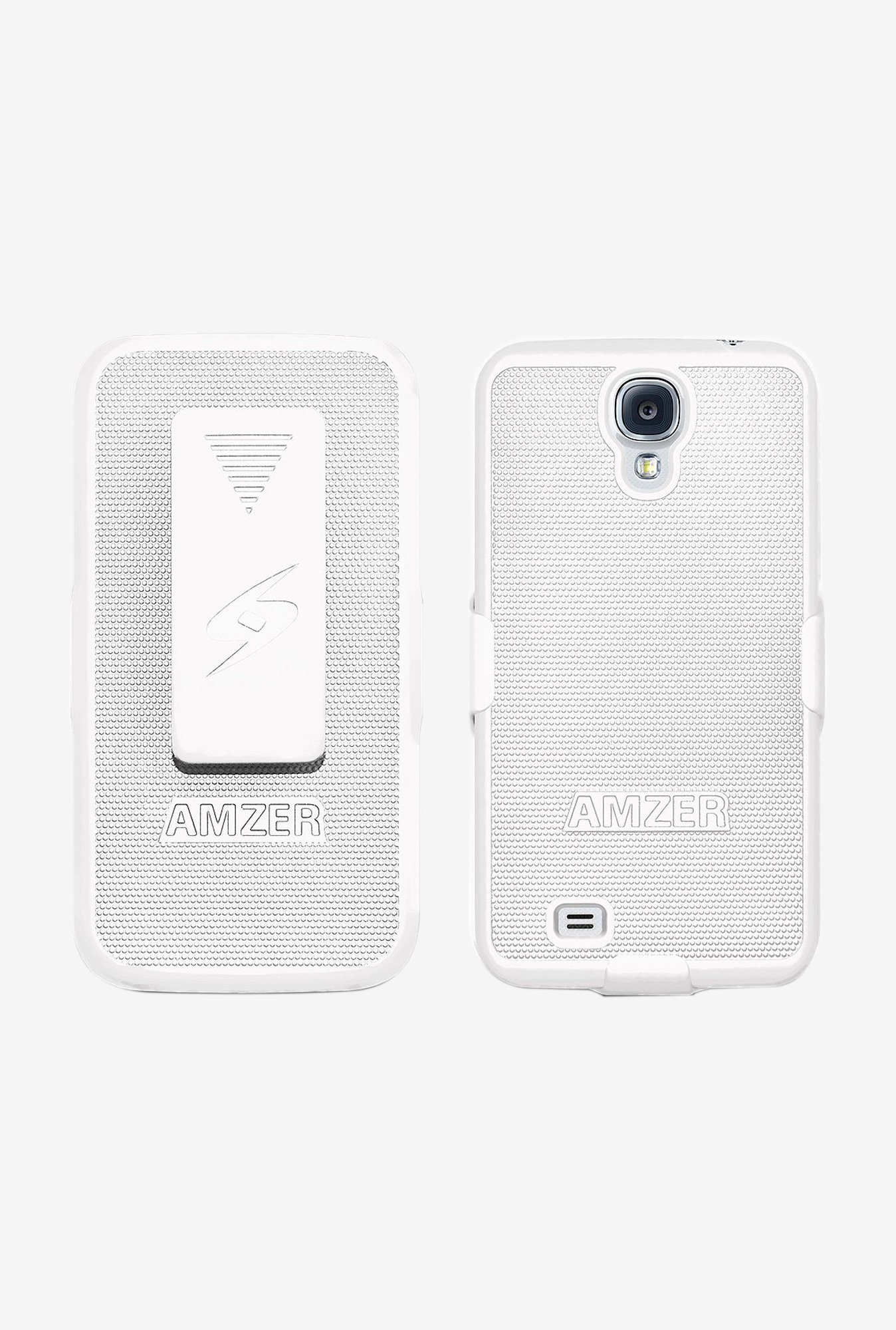 Amzer Shellster Shell Case White for Galaxy S4