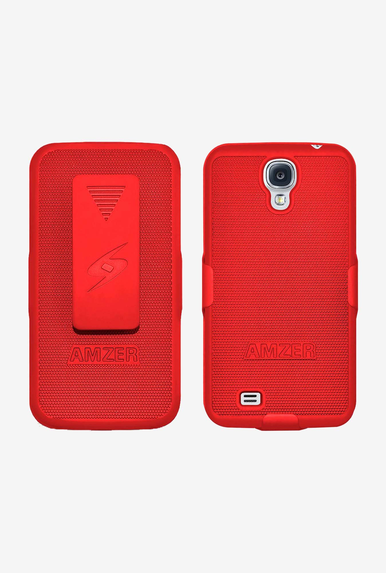 Amzer Shellster Shell Case Red for Galaxy S4