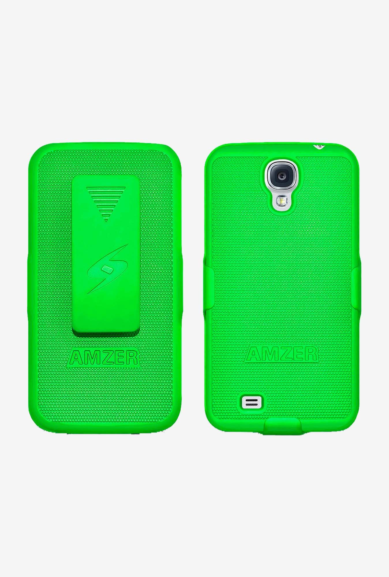 Amzer Shellster Shell Case Neon Green for Galaxy S4