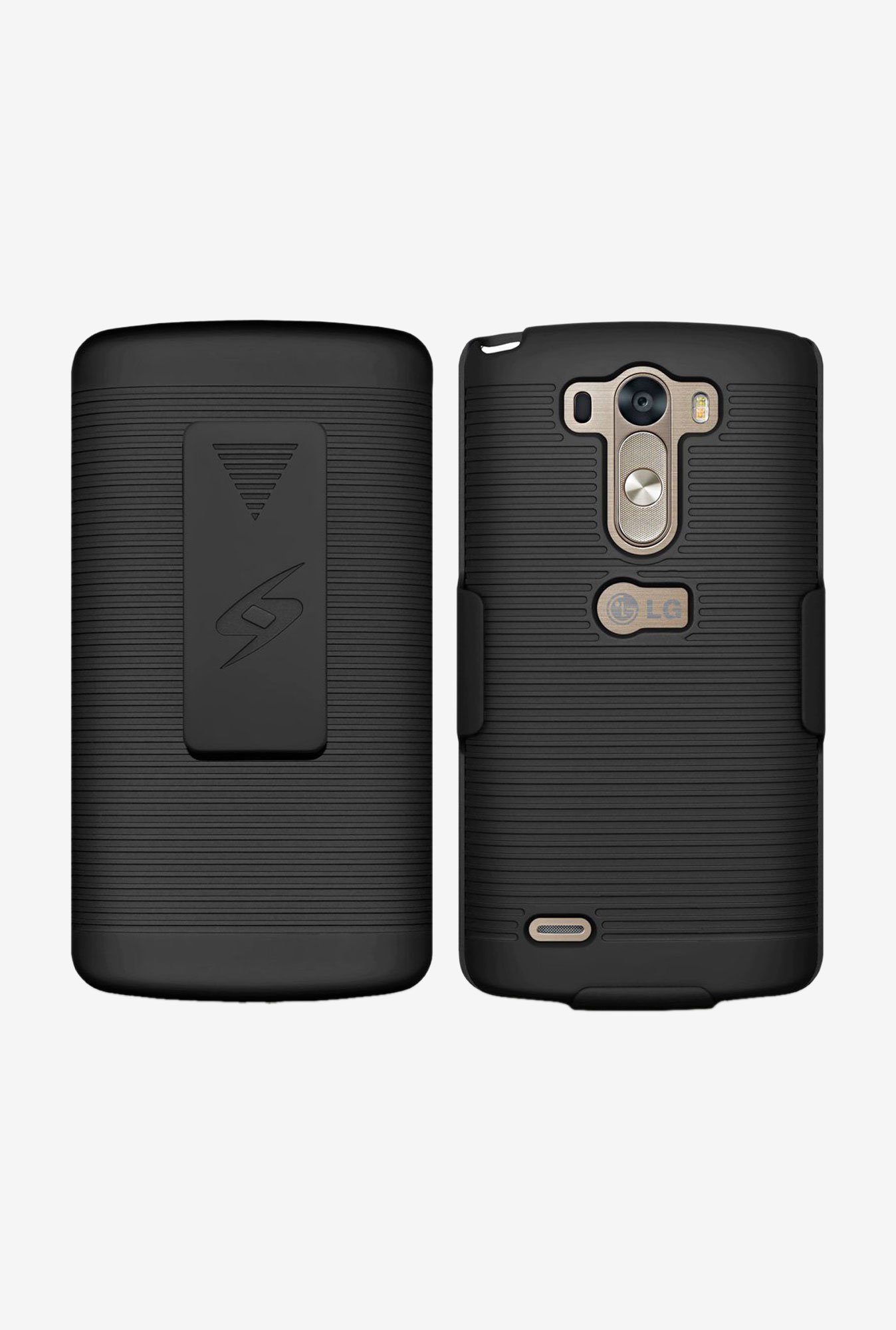 Amzer Shellster Shell Case Black for LG G3 D855