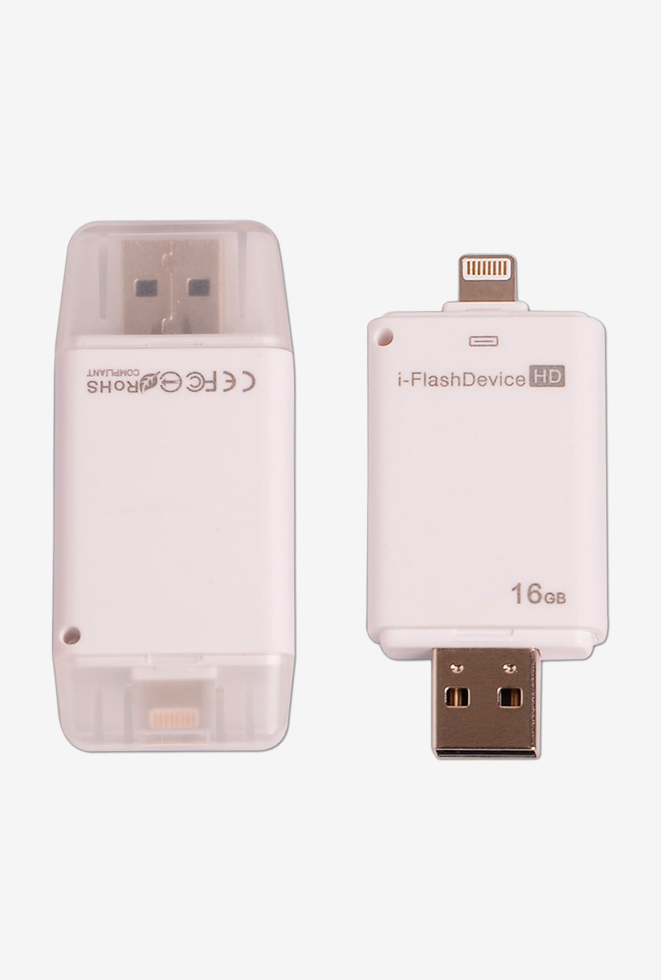 Callmate i-Flash Device for iPhone, iPad and iPod White