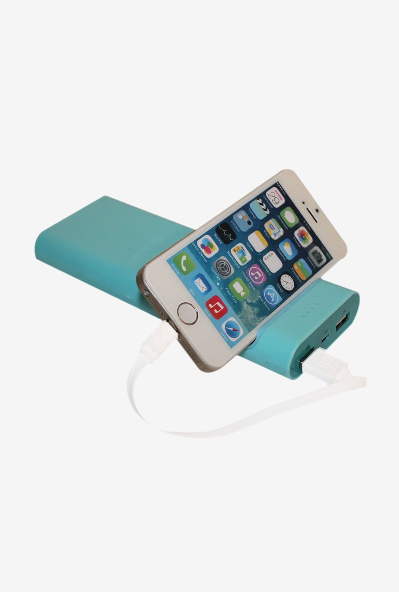 Callmate Mobile Holder 15600 mAh Power Bank (Blue)