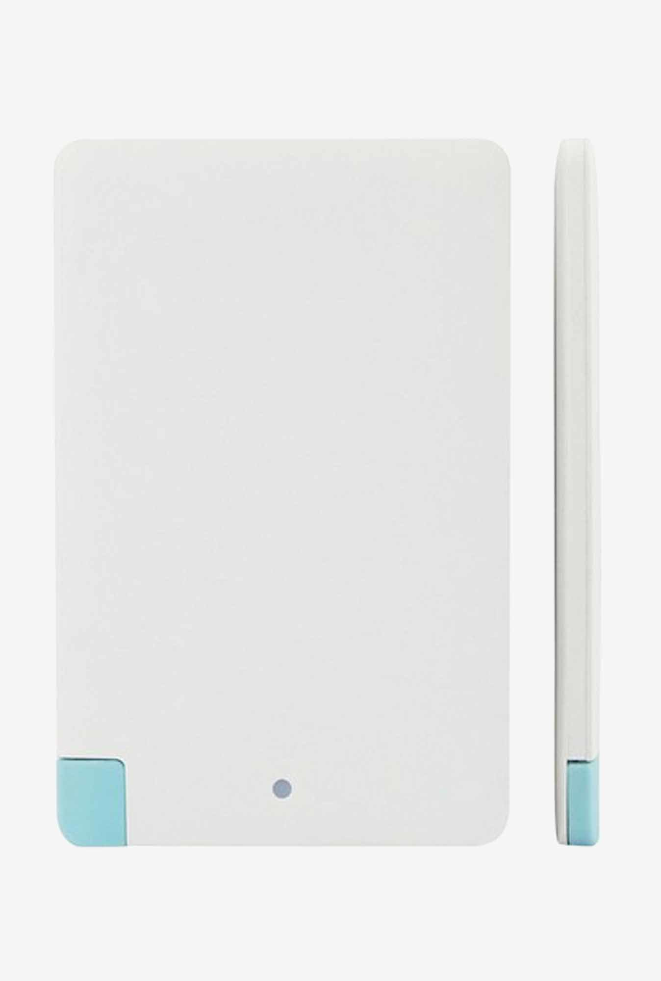 Callmate Power Card 4000 mAh Power Bank (White)