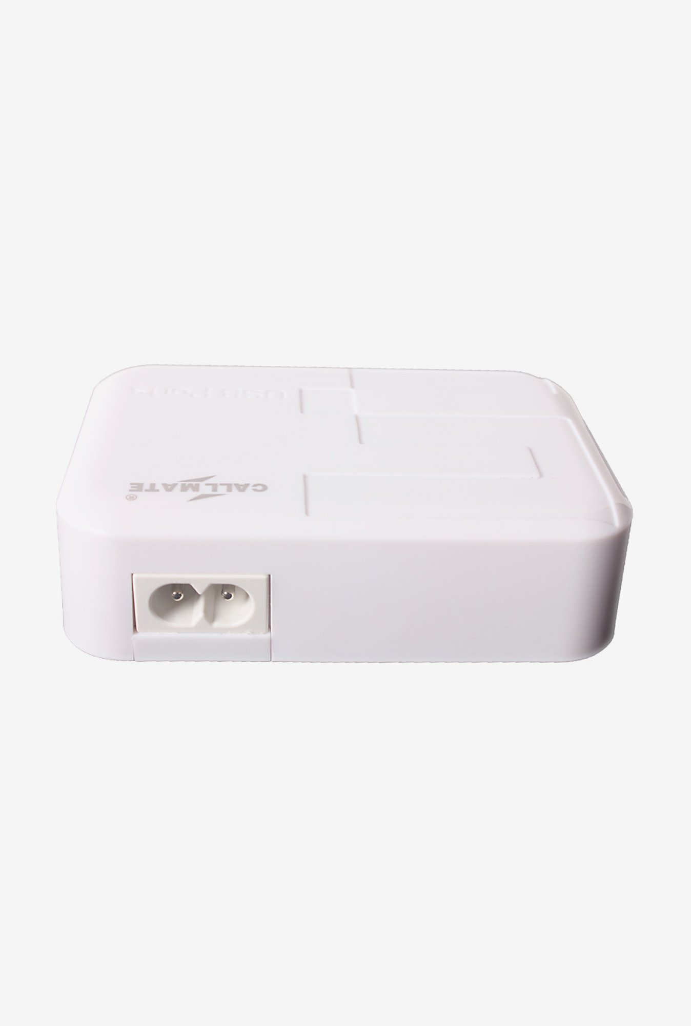 Callmate 5 Port 5.2A USB Charger for iPad and Tablet White
