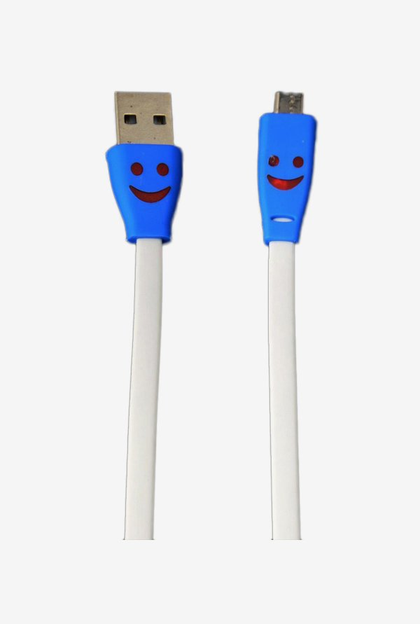Callmate Flat Micro USB Data & Charging Cable White