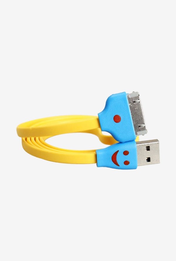 Callmate Flat Micro USB Data & Charging Cable Yellow